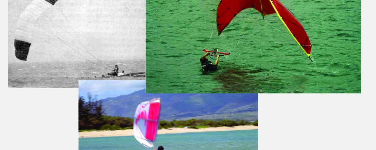 Storia del kitesurf