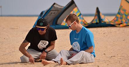 Corsi kitesurf Fuerteventura principianti